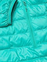 Bergans - Rros Down Light W Jkt w/Hood - wandel- en regenjassen - lt glacierlake/glacierlake - 3