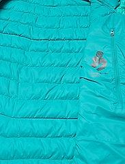 Bergans - Rros Down Light W Jkt w/Hood - wandel- en regenjassen - lt glacierlake/glacierlake - 5