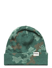 Camouflage Youth Beanie - FORESTFROST/GREENMUD