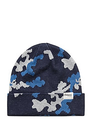 Camouflage Youth Beanie - NAVY/STRONGBLUE/ALU
