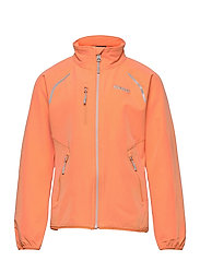 Sjoa Lt Softshell Youth Girl Jkt - CANTALOUPE