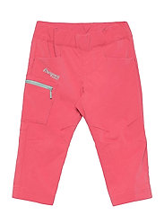 Lilletind V2 Light Softshell Kids Pants - CREAMY ROUGE/MISTY FOREST
