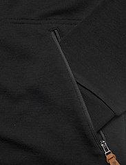 Bergans - Tuva Light Wool Hood Jkt - basic sweatshirts - black - 3