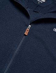 Bergans - Tuva Light Wool Hood Jkt - basic-sweatshirts - navy - 3