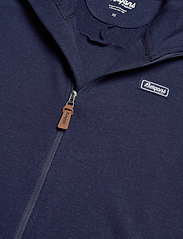 Bergans - Tuva Light Wool Hood W Jkt - fleece - navy - 6
