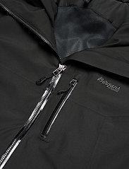 Bergans - Stranda Ins Hybrid Jkt - wandel- en regenjassen - black/solidcharcoal - 3