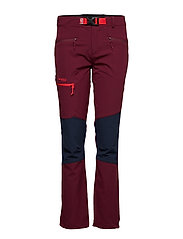 Cecilie Mountaineering Pnt - DK CHERRY/NAVY/STRAWBERRY