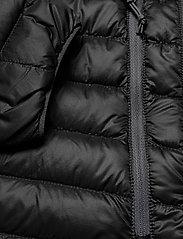 Bergans - Cecilie Down Lt Jkt - wandel- en regenjassen - solid charcoal / solid dark grey - 4