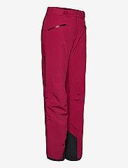 Bergans - Oppdal Insulated Lady Pnt - skibroeken - beetred - 3