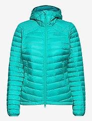 Bergans - Rros Down Light W Jkt w/Hood - wandel- en regenjassen - lt glacierlake/glacierlake - 1