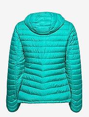 Bergans - Rros Down Light W Jkt w/Hood - wandel- en regenjassen - lt glacierlake/glacierlake - 2