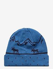 Bergans - Mountain Moose Kids Beanie - huer - strongblue/navy - 1