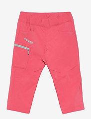 Bergans - Lilletind V2 Light Softshell Kids Pants - broeken - creamy rouge/misty forest - 0
