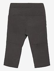 Bergans - Lilletind V2 Light Softshell Kids Pants - broeken - solid charcoal/pineapple - 1