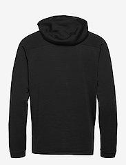 Bergans - Tuva Light Wool Hood Jkt - basic sweatshirts - black - 1