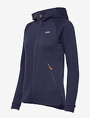 Bergans - Tuva Light Wool Hood W Jkt - fleece - navy - 3