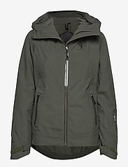 Bergans - Stranda Ins Hybrid W Jkt - insulated jackets - seaweed/khakigreen - 0
