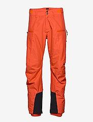 Bergans - Stranda 2L Pnt - shell pants - lava/br magma - 0