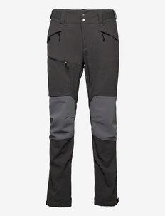 Fjorda Trekking Hybrid Pants - friluftsbyxor - solid charcoal/solid dark grey