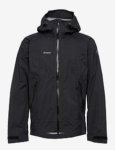 Letto Jkt - outdoor & rain jackets - black/dk navy