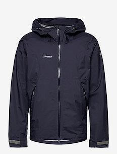 Letto Jkt - jakker og regnjakker - navy/solidgrey