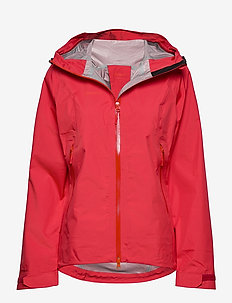 Letto Lady Jkt - friluftsjackor - red/firered
