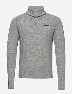 Ulriken Jumper - turtlenecks - grey mel