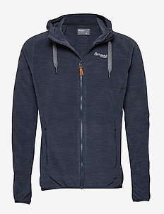 Hareid Fleece Jkt - mittlere lage aus fleece - dark navy melange