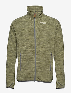 Hareid Fleece Jkt NoHood - fleece midlayer - seaweed mel