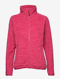 Hareid Fleece W Jkt NoHood - fleece midlayer - bougainvillea mel