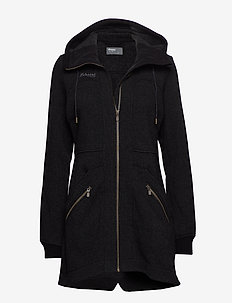 Myrull Lady Coat - wolljacken - black