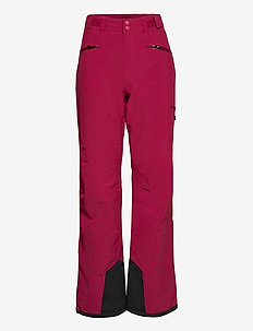 Oppdal Insulated Lady Pnt - skidbyxor - beetred