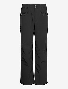 Oppdal Insulated Lady Pnt - skibroeken - black / solid charcoal
