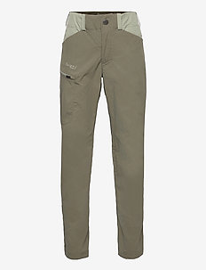 Utne V4 Youth Pants - softshell-bukser - green mud/light green mud