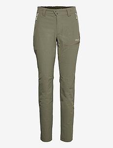 Tyin W Pants - spodnie turystyczne - green mud