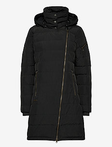 Bod Down Lady Coat - parkasjackor - black
