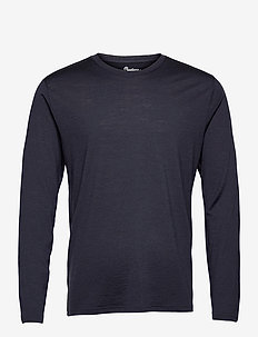 Oslo Wool Long Sleeve - top met lange mouwen - dark navy