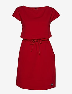 Oslo W Summerdress - RED