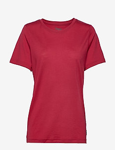 Oslo Wool Tee - sports tops - red