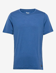 Oslo Wool Tee - t-shirts - rivierablue