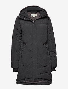 Down Lady Parka - BLACK MEL