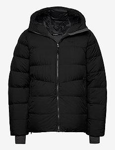 Rros Down Jkt - jakker og regnjakker - black