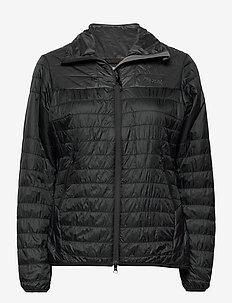 Rros Light Insulated W Jkt - jakker og regnjakker - black / solid charcoal