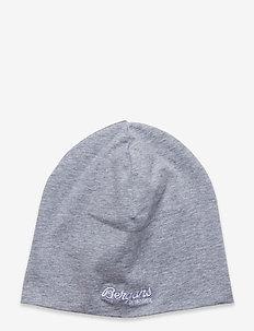 Kids Cotton Beanie - huer - grey melange