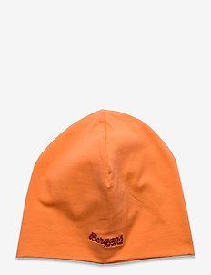 Youth Cotton Beanie - huer - cantaloupe