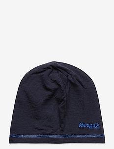 Bergans Wool Junior Beanie - muts - navy melange