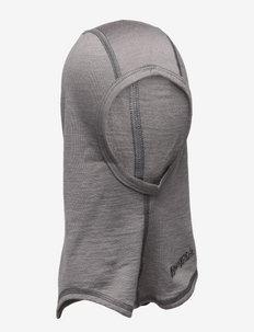 Bergans Wool Junior Balaclava - mutsen - solid grey