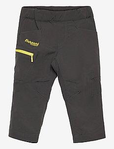Lilletind V2 Light Softshell Kids Pants - softshell-bukser - solid charcoal/pineapple