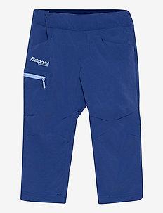 Lilletind V2 Light Softshell Kids Pants - softshell-bukser - dark riviera blue/sailor blue