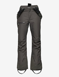 Knyken Ins Youth Slimfit Pnt - pantalons - solid charcoal / solid dark grey